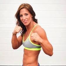 Julia Budd kick-boxing
